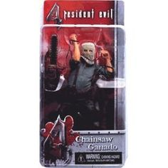 Resident Evil 4 Action Figure Chainsaw Ganado