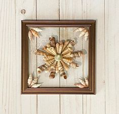 """8""""x 8"""" Seashell Flower Wall and/or Window Art/ Sea Shell Art/Resin Art/Unique Coastal Decor/Sun Catcher/Great Christmas Gift  Handmade in South Carolina with high quality materials (seashells and resin) and secured with care. Clear resin covers entire glass creating the effect of shells sitting in Coastal Wreath, Coastal Decor, Flower Window, Flower Wall, Beach Gifts, Seashell Art, Window Art, Resin Art, Sea Glass Art"""