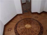 Wood flooring inlays