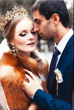 """Диадемы, обручи ручной работы. Ярмарка Мастеров - ручная работа. Купить Корона с крестами """"Афина"""". Handmade. Корона, корона для свадьбы"""