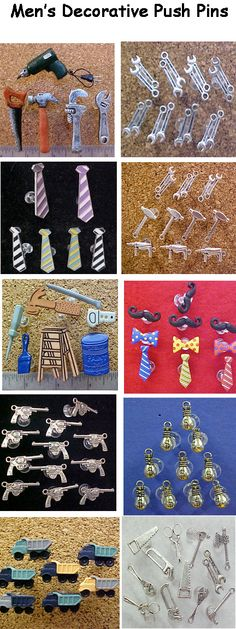 decorative push pins on pinterest cork bulletin boards set of and fabric covered. Black Bedroom Furniture Sets. Home Design Ideas