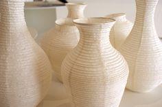 NOBITSUTSU Washi Paper Vases at OHMYBLUE in Italy