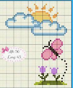 Free Cross Stitch Charts, Baby Cross Stitch Patterns, Cross Stitch Cards, Simple Cross Stitch, Cross Stitch Baby, Cross Stitch Animals, Cross Stitch Flowers, Cross Stitch Designs, Cross Stitching