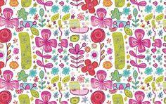 fun flower pattern