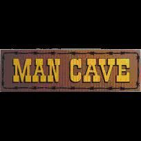 MAN CAVE SIGN - FREE SHIPPING $24.00