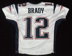 Game-worn jerseys and game-used footballs top a list of the top five most expensive Tom Brady memorabilia items sold at public auction in recent years.
