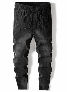 cbd9aa6a45 Pencil Striped Harem Trouser Pants for Men - d1four3 Mens Clothing Men  Trousers, Harem Trousers