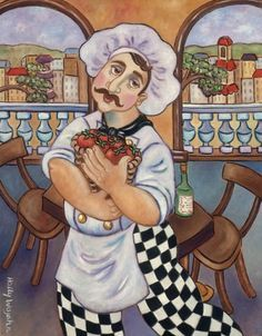 the chef of love art  - Google Search