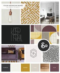 Logo and Brand Design :: Two  Three Designers - Saffron Avenue | Graphic Design + Brand Styling