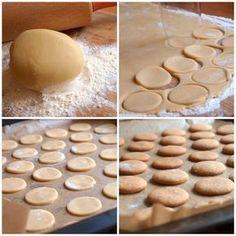 Baking Recipes, Cake Recipes, Yummy Treats, Sweet Treats, Czech Recipes, Xmas Cookies, Desert Recipes, Christmas Baking, Sweet Recipes