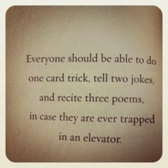 Lemony Snicket.  More fun that reciting our 'elevator pitch' anyway :-)