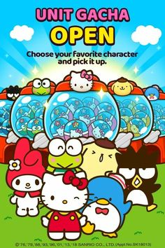 Sanrio Characters Hello Kitty Pictures, Hello Kitty Wallpaper, Sanrio Characters, My Melody, Smurfs, Piano, Kawaii, Friends, Sweet