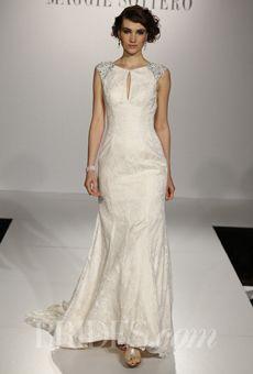 "Brides: Maggie Sottero - Fall 2013 | Bridal Runway Shows | Brides.com - ""Ellie"""
