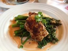 TAPS-Pistachio Crusted Sea Bass