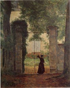 Henri Rouart {Sainte-Lucie's gate in Queue-en-Brie] Cool Photos, Painter, Oil On Canvas, Nature Art, Image, Painting, Gorgeous Art, Art, Photo Galleries