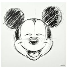 mickey mouse drawing - Drawing Tips Mickey Mouse Sketch, Mickey Mouse Drawings, Mickey Mouse Cartoon, Mickey Drawing, Cartoon Sketches, Disney Sketches, Disney Drawings, Drawing Disney, Mickey Tattoo