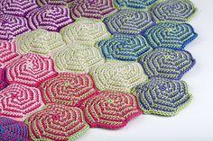 Pinwheel Blanket - Interesting and Unusual Crochet Afghan Patterns!