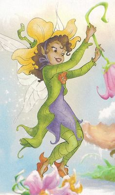 Pixie Hollow Queen Clarion | Lily in the comics: