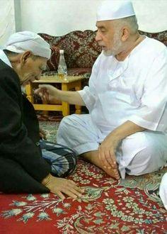 Mbah Maimun  &  Sayyid  Abbas
