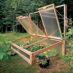 How to Build Cold Frames - Sunset