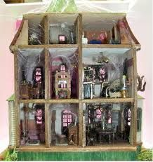 Image result for addams family doll house