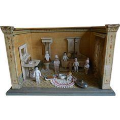 **Antique, AMAZING BATHROOM by Moritz GOTTSCHALK**all COMPLETE !!