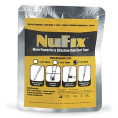 NuFix Repair Tape Kit - Problem Solvers for Home, Yard, Garden, Auto – Pest and Animal Control
