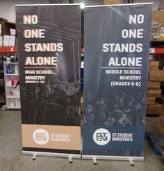 Economy Stand-Up Banner. Build community in your student ministry and share your mission with retractable banners that set up in seconds. Log Cabin Furniture, Furniture Deals, Farmhouse Furniture, Rustic Furniture, Antique Furniture, Outdoor Furniture, Church Interior Design, Church Design, Mirror Furniture