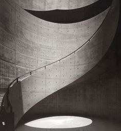 Idea for Staircase Wall Concrete Pattern ref.TADAO ANDO