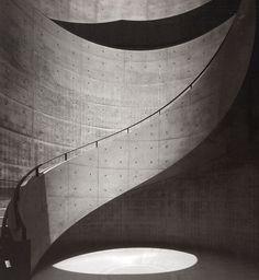 Idea for Staircase Wall Concrete Pattern ref.TADAO ANDO