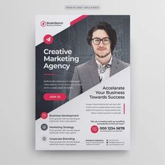 Discover the best Vectors, Photos & PSD files from Mengloong - Free Graphic Resources for personal and commercial use Corporate Flyer, Corporate Business, Corporate Design, Business Brochure, Business Design, Graphic Design Flyer, Event Poster Design, Creative Poster Design, Flyer Design