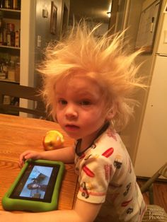 Bed Head - Bad hair day? AwkwardFamilyPhotos.com can make you feel a lot better