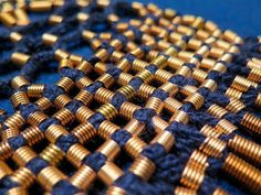 detail of male tassel belt, Eura Luistari. Finnish iron age. Made buy and photo: Mervi Pasanen