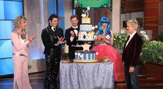 A Day in Ellen's Photos, Featuring Ellen's Birthday Show!