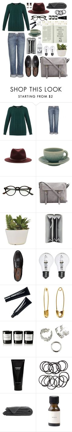 """""""Autumn 2015 (Magic High School)"""" by scar-memory ❤ liked on Polyvore featuring Chinti and Parker, Paige Denim, rag & bone, Jars, Balenciaga, Clarks, Shiseido, Banana Republic, Byredo and Witchery"""