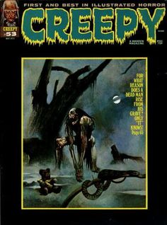 Cover for Creepy (Warren, 1964 series) #53  May 1973