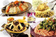 Couscous typiquement marocain, bon appetit