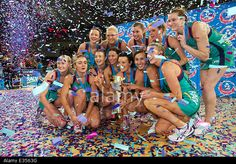Melbourne, Victoria, Australia. 22nd June, 2014. Melbourne Vixens celebrate after winning the 2014 ANZ Netball Grand Final during the match between the Melbourne Vixens and QLD Firebirds during the 2014 ANZ Championship Netball Grand Final at Hisense Arena.