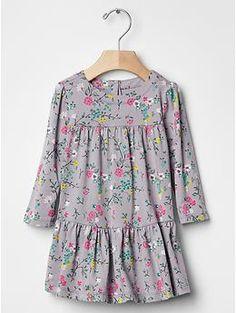 Floral tier dress | Gap