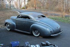 chopped 1940 Mercury