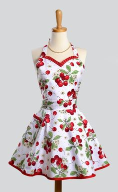 This is most likely an apron, but I'd love for it to be a dress!