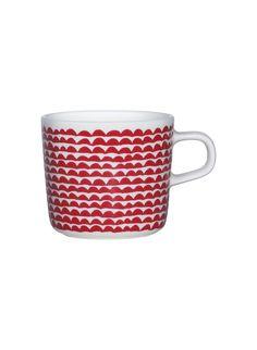Oiva/ Papajo -glögimuki - Marimekko Marimekko, Textile Design, Fashion Prints, Print Patterns, Coin Purse, Pouch, Textiles, Tableware, Unique
