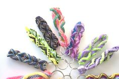 combined double corkscrew & super stitch keychains #boondoggle