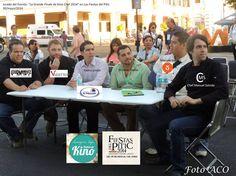 """Jurado en """"La Grande Finale de Kino Chef 2014"""", izq. a der....Alejandro Molina (Gourmandise), Alessi Butti (Vizietto), Pedro Limón (El Farallon), Orlando Diarte (REVISTA IDA & VUELTA), Manolo Valdes (Los 5 Sentidos Culinarios.), Chef Manuel Salcido!!! buena vibra!!! #chefcms #kinochef #fiestasdelpitic #revistaidayvuelta #los5sentidosculinarios #elfarallon #restaurante #favorito #hermosillo"""