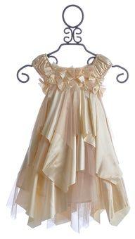 "Biscotti Little Girls Holiday Dress Glitter Champagne $86.00"" data-componentType=""MODAL_PIN"