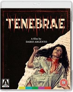 Tenebrae (1982) Horror, Thriller. Directed by Dario Argento, Starring Anthony Franciosa, John Saxon, Daria Nicolodi, Giuliano Gemma. See our Blu-ray review: https://www.popcorncinemashow.com/2016/11/19/tenebrae-blu-ray-review-1982/