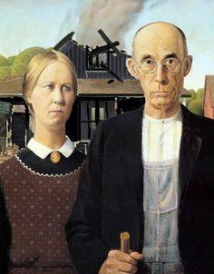 25 Funny American Gothic Portraits - Holytaco