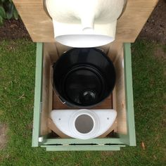 A new version of this product is due to be launched around the end of Jan 2018 and will feature a 15 Litre urine container! A self-contained, urine-separating compost toilet with drop down door …