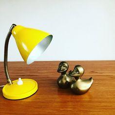 vintage bureaulampje van Guyengella op Etsy