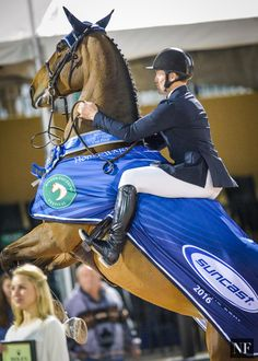 Rio Contenders McLain Ward & HH Azur dominate $380,000 Suncast CSI5* Grand Prix at WEF